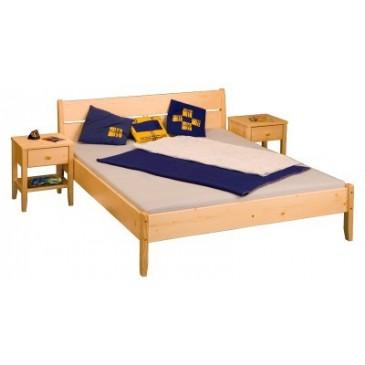 Vyklápěcí lamelový rošt do postele DOUBLE PRAKTIK B, 140x200, 28 lamel