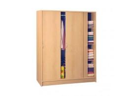 Šatní skříň s posuvnými dveřmi IA3323A - lamino buk