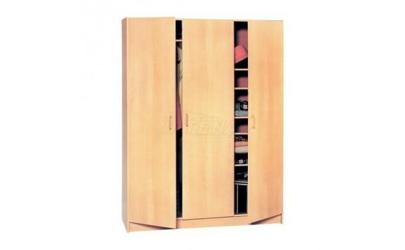 Šatní skříň třídílná IA316A - lamino buk
