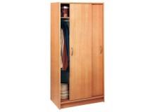 Šatní skříň s posuvnými dveřmi IA5699A lamino buk