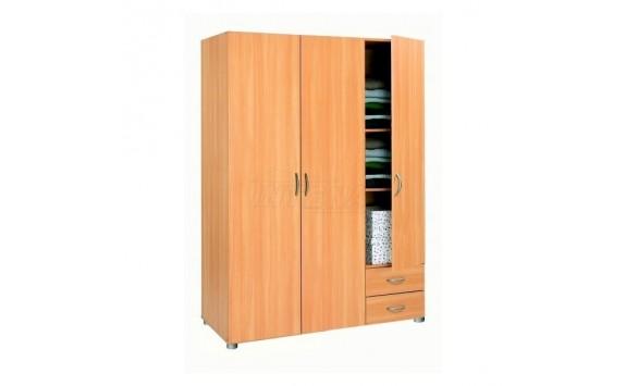 Šatní skříň třídílná IA5066A lamino buk