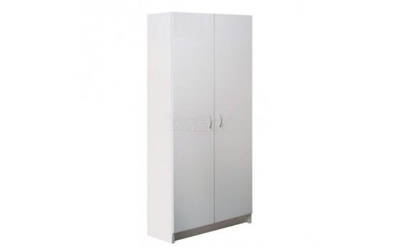 Šatní skříň policová IA7B - lamino bílá
