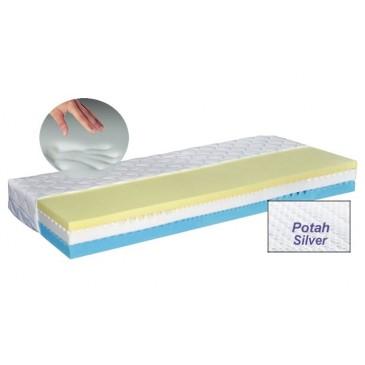 Zdravotní matrace LUX MEMORY SILVER, 90x200 líná paměťová pěna