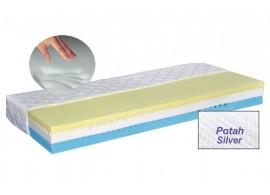 Zdravotní matrace LUX MEMORY SILVER, 160x200 líná paměťová pěna