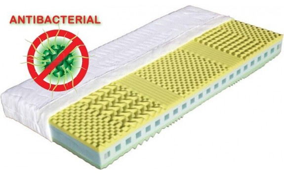 Matrace do postele KRÉTA, antibakteriální pěna