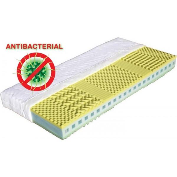 Matrace do postele KRÉTA 180x200, antibakteriální pěna