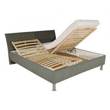 Čalouněná postel s úložným prostorem COLLETE 160x200