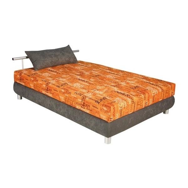 Čalouněná postel s úložným prostorem ADRIANA 140x200