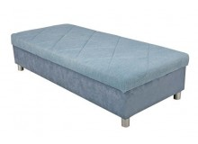 Čalouněná postel - válenda s úložným prostorem INEZ 90x200