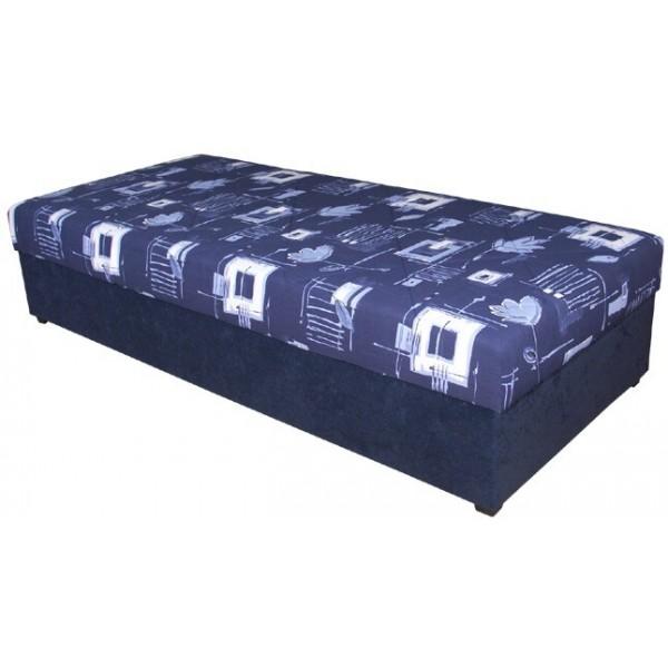 Čalouněná postel - válenda s úložným prostorem ORMEA 90x200