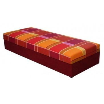 Čalouněná postel - válenda s úložným prostorem RIO 80x200