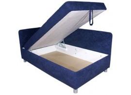 Čalouněná postel - válenda s úložným prostorem SORBONA 90x200