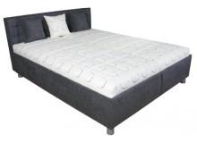Čalouněná postel s úložným prostorem BOBBY 160x200