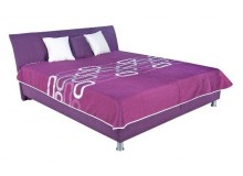 Čalouněná postel s úložným prostorem COLUMBIA 160x200
