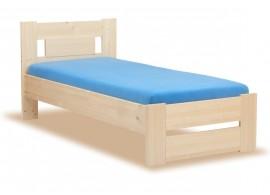 Noční stolek KAP-KOM2S, dub-modrá