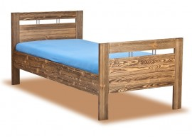 Úložný prostor - přistýlka pod postel KAP-LOZ/85D, dub-růžová