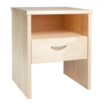 Noční stolek z masivu ERIK, smrk