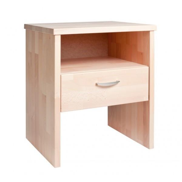 Noční stolek z masivu ERIK, buk