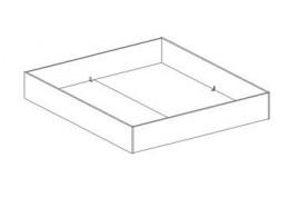 Manželská postel - dvojlůžko LEONA 160x200, 180x200, masiv buk - třešeň tmavá