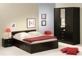 Poschoďová postel pro tři děti KALIMERO-2080/R, masiv smrk