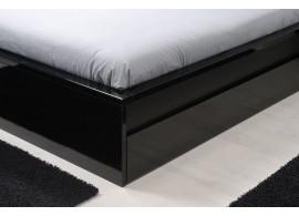 Rozkládací postel s úložným prostorem TANDEM KLASIK, levá 90 x 200, buk