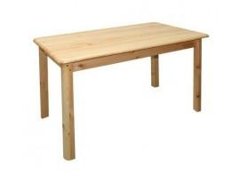 Jídelní stůl z masivu 120x70 - BR141, borovice