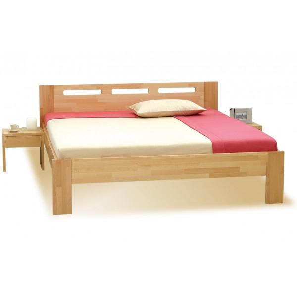 Manželská postel z masivu NELA 180x200, masiv buk