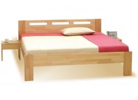 Manželská postel z masivu NELA 160x200, masiv buk