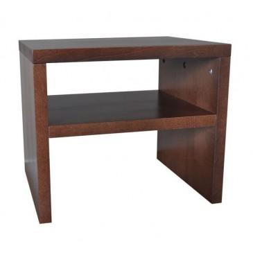 Noční stolek UNI-P, masiv buk