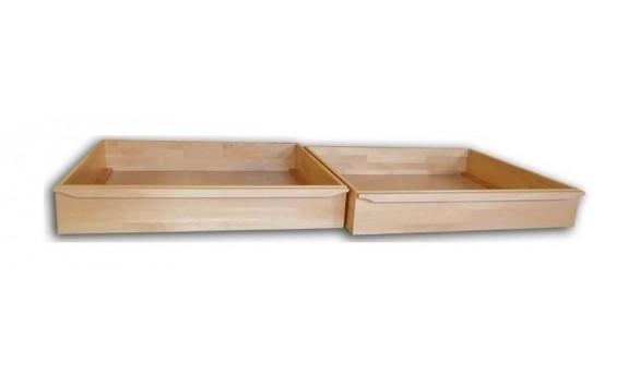 Úložný prostor pod postel 1/2 (1 pár) masiv buk
