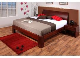 Dětská postel CR107, růžová-bílá