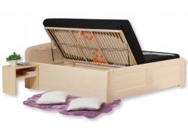 Manželská postel z masivu FLORENCIA - F121 180x200, masiv buk