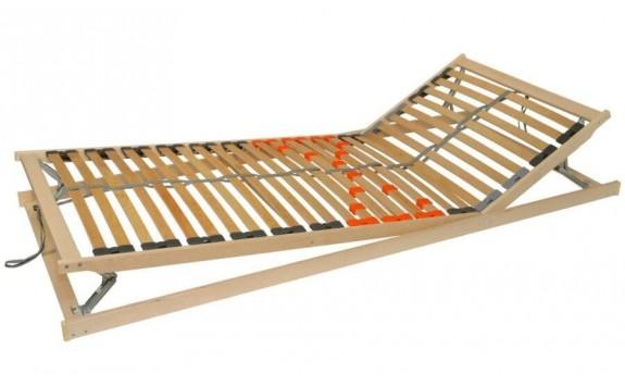 Polohovací lamelový rošt do postele DOUBLE EXPERT 140x200