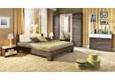 Manželská postel - dvojlůžko FLORENCIA - F126 160x200, 180x200, masiv buk