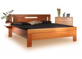 Zvýšená postel - dvoulůžko ARLETA 4 senior 160x200, 180x200, masiv buk