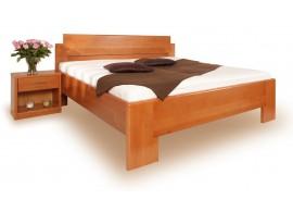 Manželská postel z masivu DELUXE 1. senior 160x200, 180x200, masiv buk