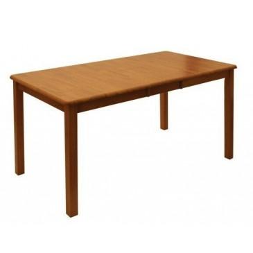 Rozkládací jídelní stůl z masivu 150x75 - SR67, kaučukovník