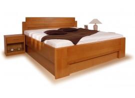 Zvýšená postel z masivu SOFIA - F114 180x200, masiv buk