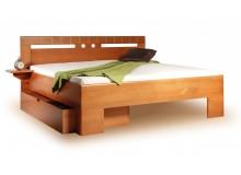 Manželská postel z masivu VAREZZA 1 senior 160x200, 180x200, masiv buk