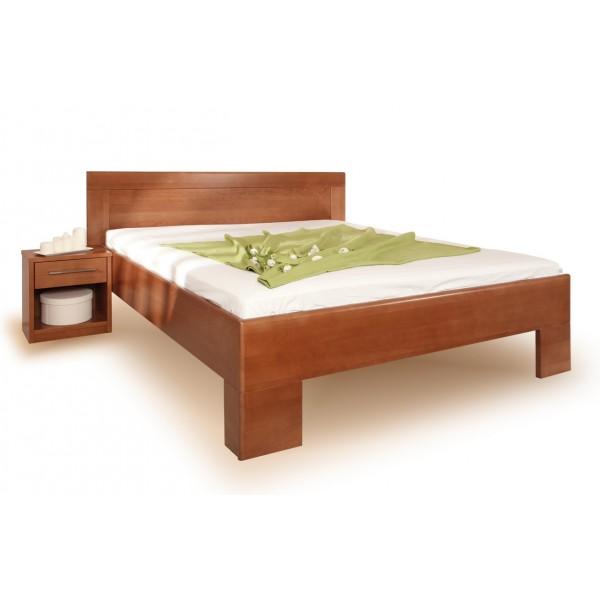 Zvýšená postel VAREZZA 7 senior 160x200, 180x200, masiv buk