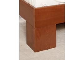 Zvýšená postel s úložným prostorem a přistýlkou Marinela, bílá