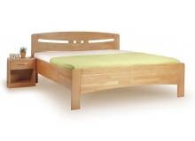 Zvýšená postel z masivu EVITA 1 senior 160x200, 180x200, masiv buk