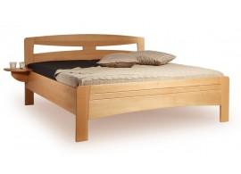 Manželská postel z masivu EVITA 2 senior 160x200, 180x200, masiv buk