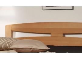 Manželská postel s úložným prostorem LEONA L2 180x200, masiv buk
