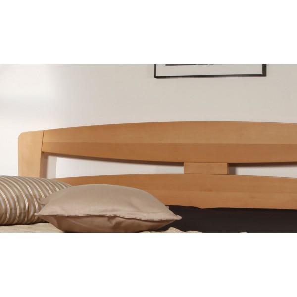 f5c5c3e8ed84 Manželská postel z masivu EVITA 2 senior 160x200