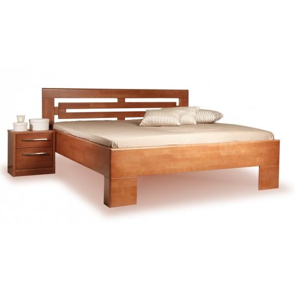 Manželská postel - dvojlůžko VAREZZA 2 senior 160x200, 180x200, masiv buk