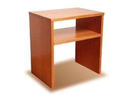 Noční stolek UNI 1+1 zdarma, masiv buk