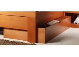 Zásuvka pod postel - třičtvrteční 3/4 masiv buk
