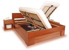 AKCE - Zábrana k dětské posteli přenosná - univerzální, masiv buk