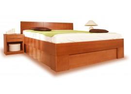 Zábrana k dětské posteli přenosná - univerzální, masiv moření bílá